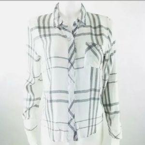 Rails button down shirt